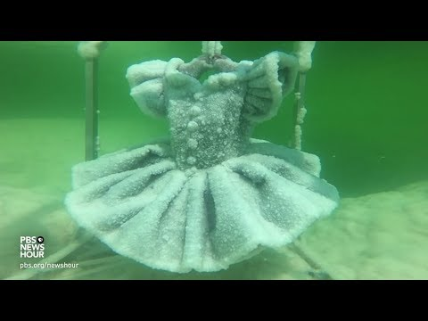 This Artist Makes Incredible Salt Sculptures Under The Dead Sea