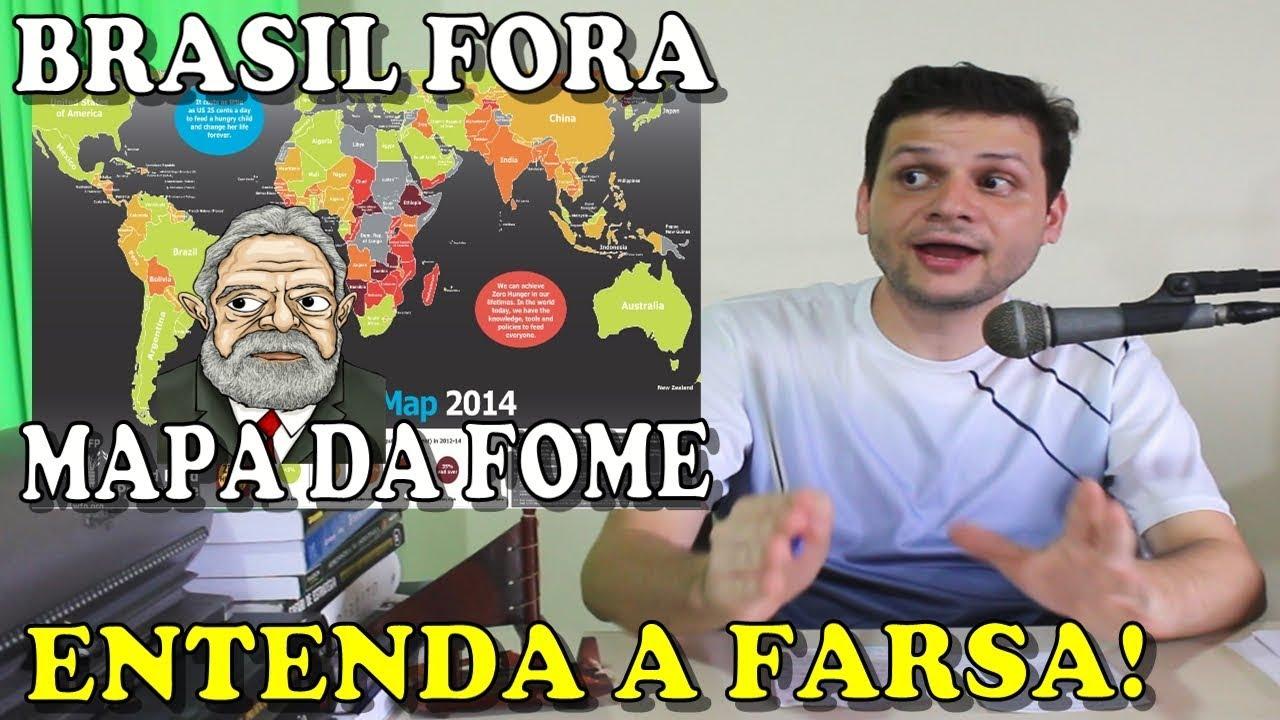 Lula tirou o Brasil do Mapa da Fome! Entenda a farsa!