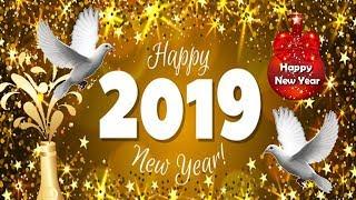 Happy New Year Whatsapp Status 2019 New Year GIF Animated Greetings New Year Wishes 2019