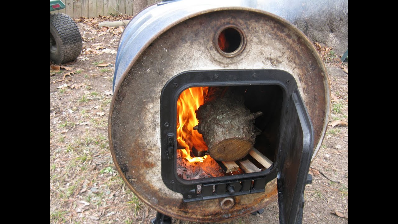 Vogelzang Barrel Stove Kit Youtube