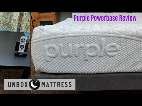Purple Powerbase Review – Purple Adjustable Bed EXPLAINED!!