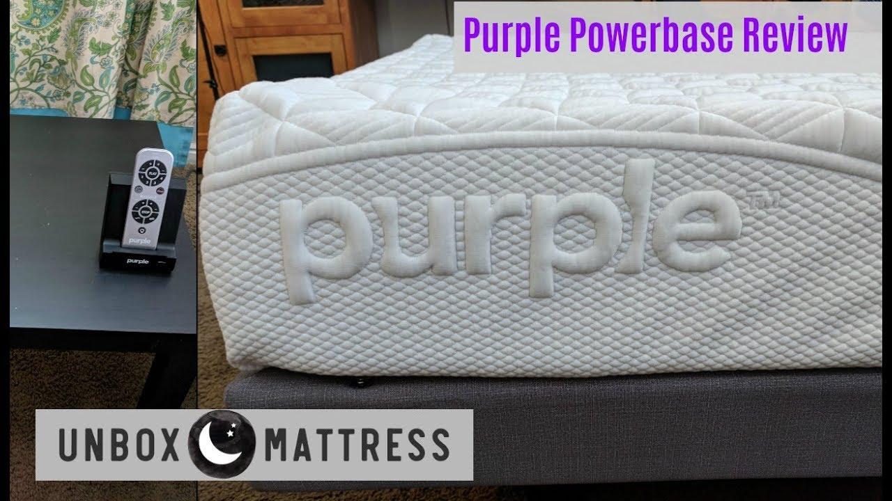 Purple Powerbase Review Purple Adjustable Bed Explained