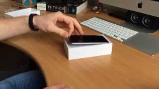 Apple iPhone 6 Unboxing - 64GB Space Gray