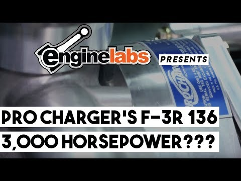 ProCharger's F-3R 136 Supercharger Makes Over 3,000 Horsepower!