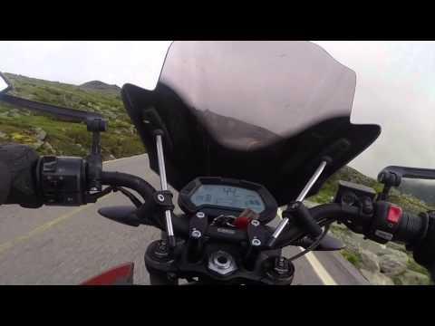 Mt Washington Fun Ride on a Zero SR - 2015