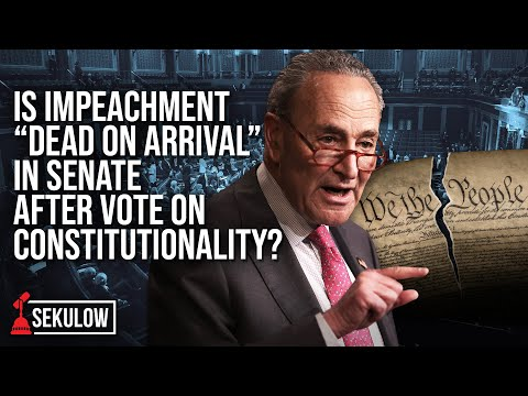 "Is Impeachment ""Dead on Arrival"" in Senate After Vote on Constitutionality?"