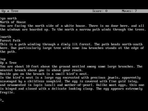 DOS Game: Zork - The Great Underground Empire