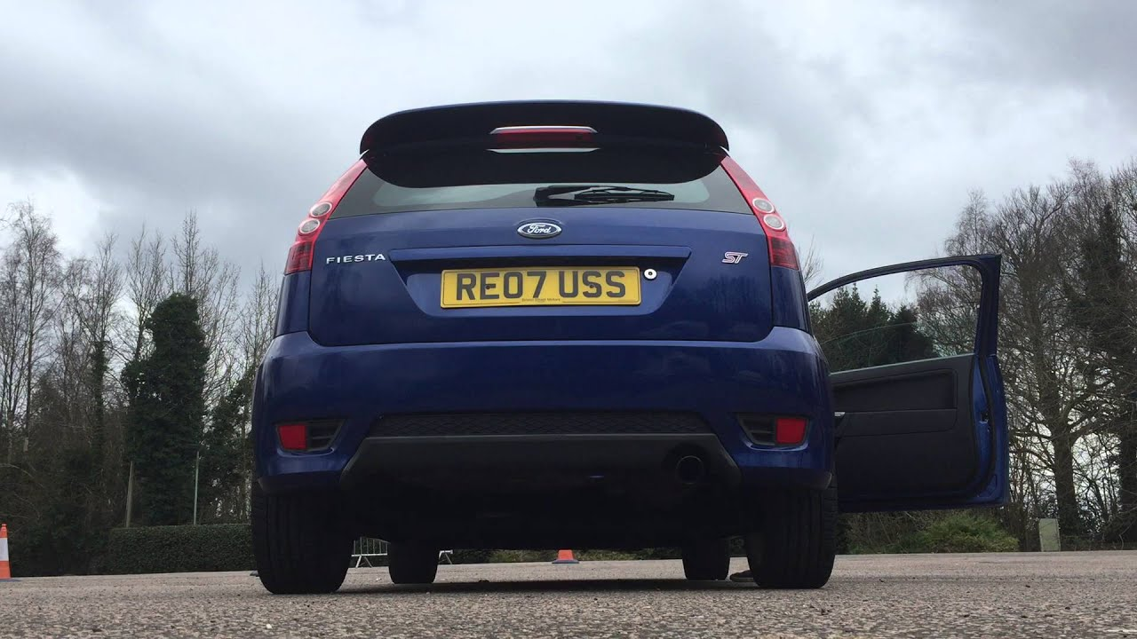 my ford fiesta st mk6 stock exhaust sound for sale youtube. Black Bedroom Furniture Sets. Home Design Ideas