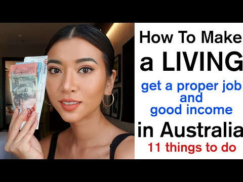 How To Make Living & Get Career / Job In Australia