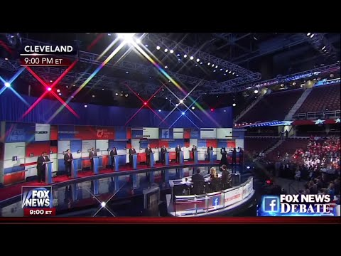 First Republican Primary Debate - Main Stage - August 6 2015