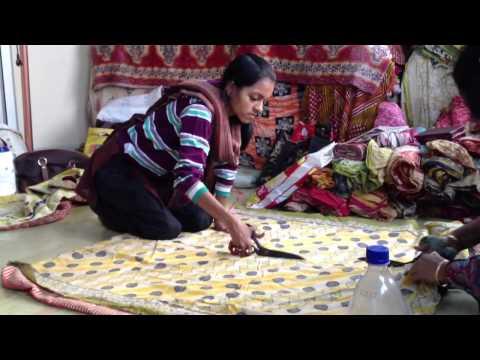 Connexions sari cutting