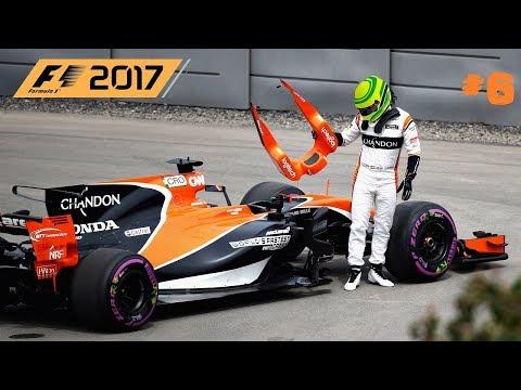 F1 2017 // 🇮🇩 S01R06: MONACO-MONTE CARLO // McLAREN HONDA KARRIER