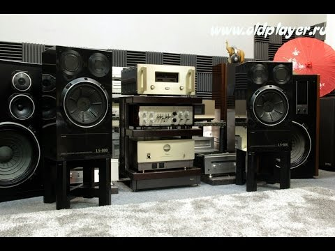 OPTONICA RP-3500 Kenwood L-03A  Trio LS-800 Exclusive - Oldplayer test