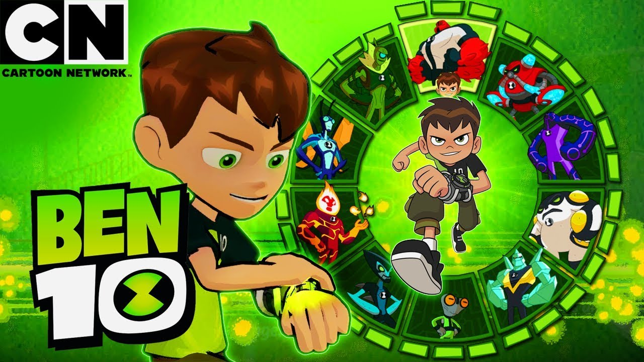 Ben 10 All Alien Transformations Ultimates Cartoon Network