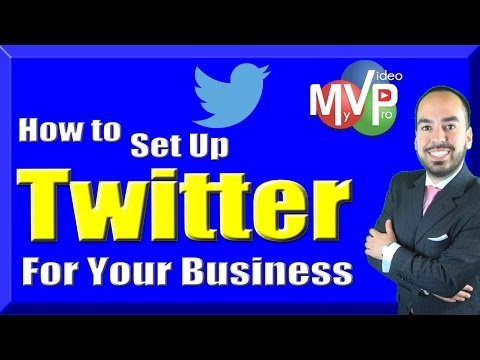How to set up Twitter for Business (2016 Update)