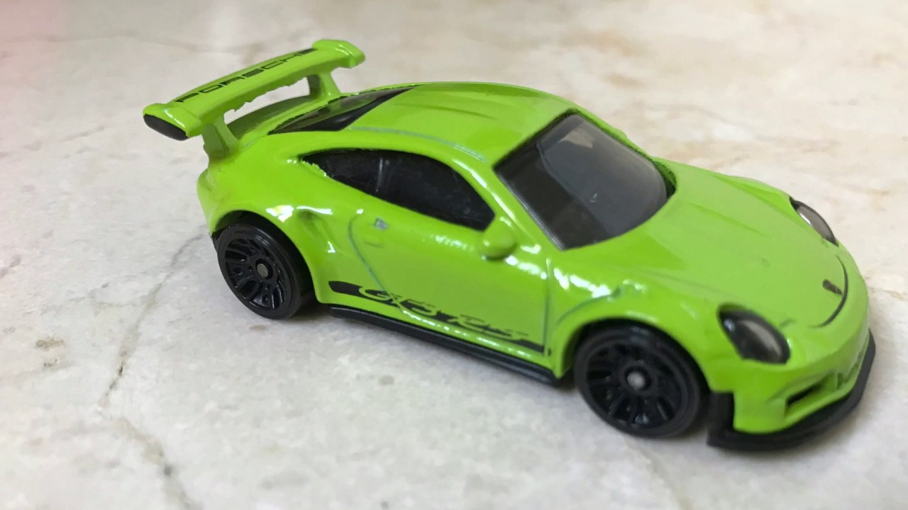 hot wheels porsche 911 gt3 rs 2017 edition review youtube. Black Bedroom Furniture Sets. Home Design Ideas