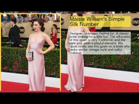 SAG Awards Dresses That Could Totally Double As Wedding Gowns