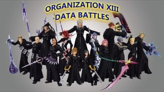Kingdom Hearts 2 Organization XIII Critical Data Battles