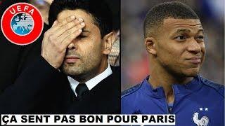 🚨 L'UEFA VA PRENDRE UNE DÉCISION POUR PSG/DORTMUND CA SENT PAS BON POUR PARIS / MBAPPE AU JO #1052