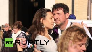 Vatican City: See thousands trot the tango for Pope Francis' birthday bash