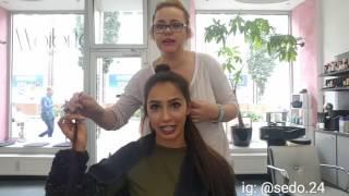 Haarverlängerung mit Verlocke Bonding Extensions