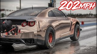 202mph in 7 Seconds! - 3000HP Alpha Queen GTR