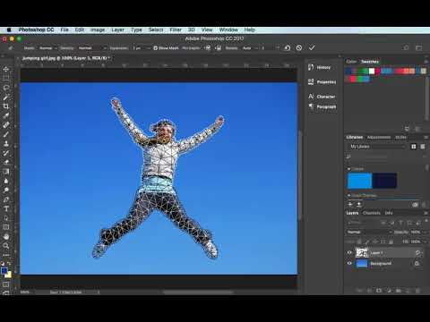 Using Puppet Warp In Photoshop CC: Tutorial