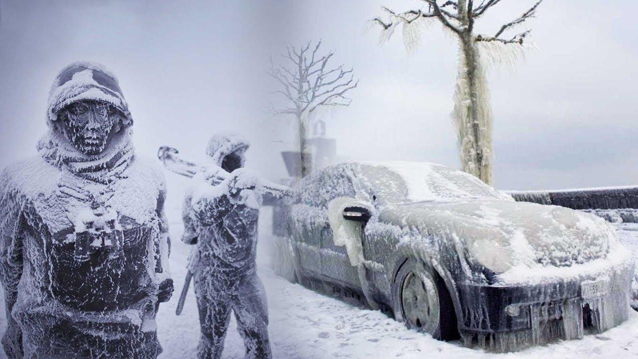 انظر ماذا يفعلون حتى لا يفقدون حياتهم في الدولة الأبرد طقسا في العالم
