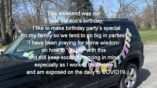 Quarantine Drive-Thru Birthday Party