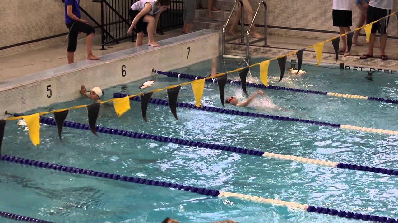Lisgar Girls Swimming Backstroke Jenna Jimmy Thompson Memorial Pool Youtube