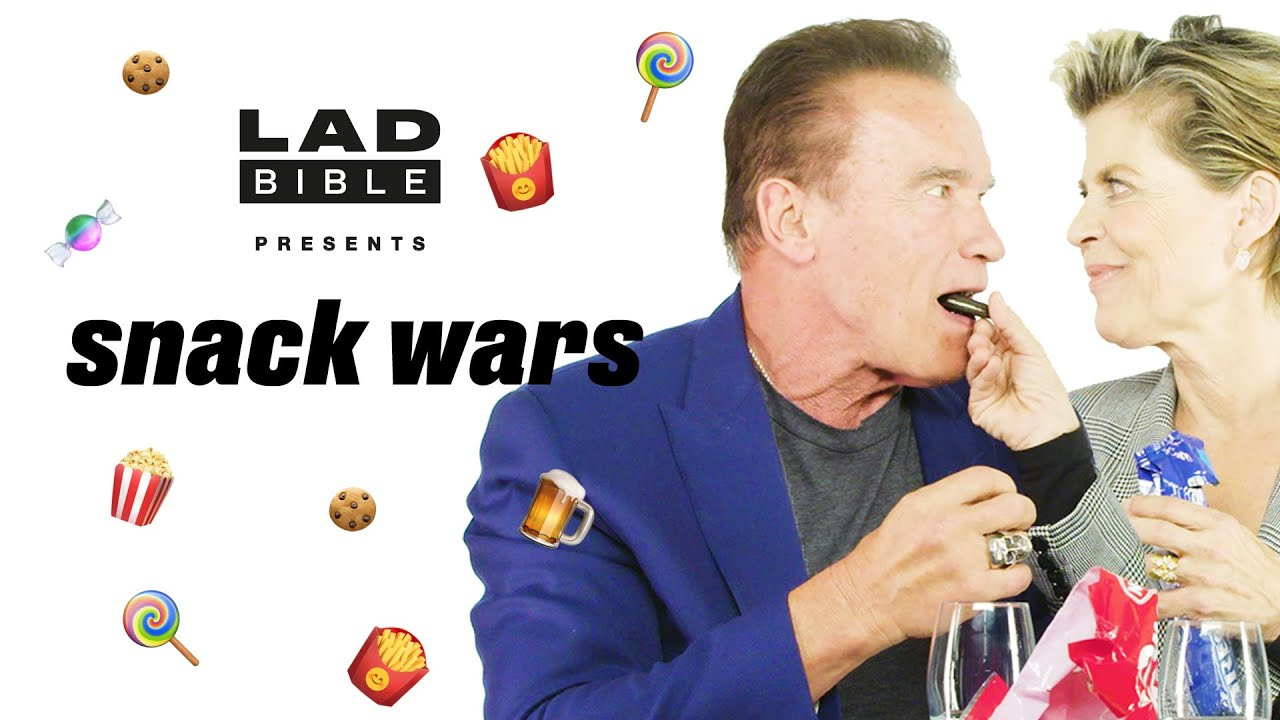 Arnold Schwarzenegger gets VERY passionate about Austrian snacks | Snack Wars