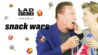 Snack Wars I Arฑold Schwarzenegger is VERY passionate about Austrian snacks