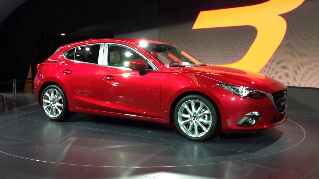 schuster automobile der neue mazda 3 skyactive 5 t rer auf der iaa in frankfurt youtube. Black Bedroom Furniture Sets. Home Design Ideas