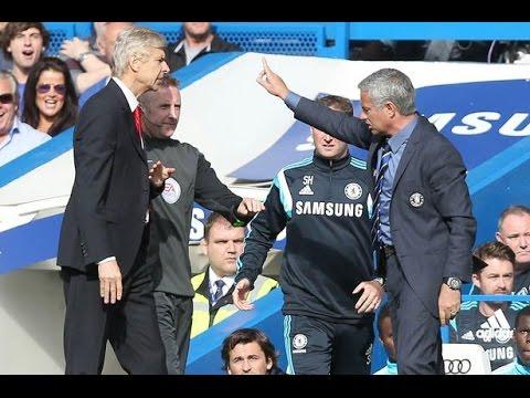 Jose Mourinho's Reign of Terror over Arsene Wenger