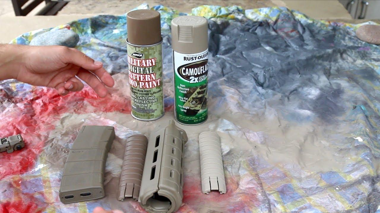 Flat Dark Earth Spray Paint