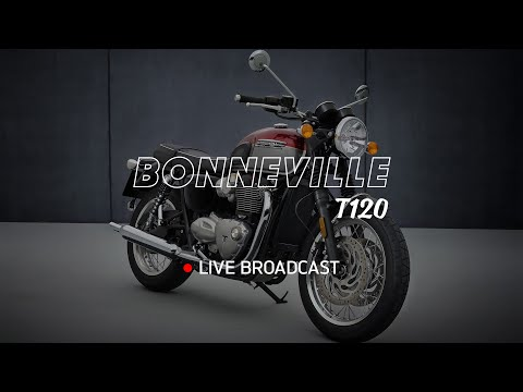 New Bonneville T120 and T120 Black -  Reveal