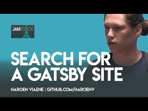 Thumbnail Haroen Viaene —Search for a Gatsby site