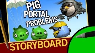 Pig Portal Problems Storyboard and 3d Wireframes