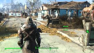 Fallout 4 Helmeted Cage Armor SET HD Location
