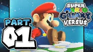 Super Mario Galaxy VS: Part 01 (4 Player)