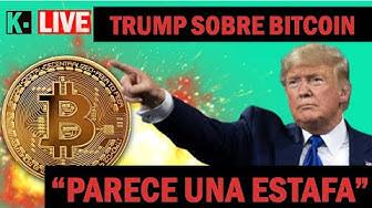 Imagen del video: EN ESPAÑOL, Trump dice, el Bitcoin