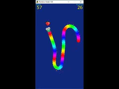 Rainbow Snake (BBC Basic/Windows)