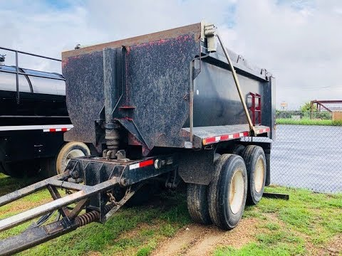 2003 Palmer End Dump Pup Trailer For Sale