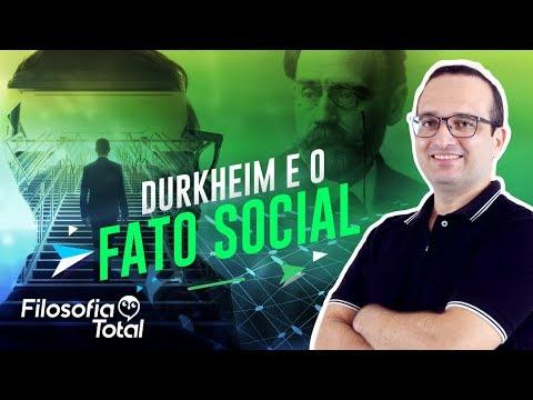 Durkheim e o fato social - Prof. Anderson