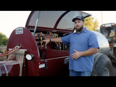 Orchard Spraying Equipment - How It Works! - LectroBlast Electrostatic Sprayer By Progressive Ag