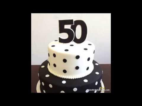 50th Birthday Cake Get Unique Birthday Cake Ideas Youtube