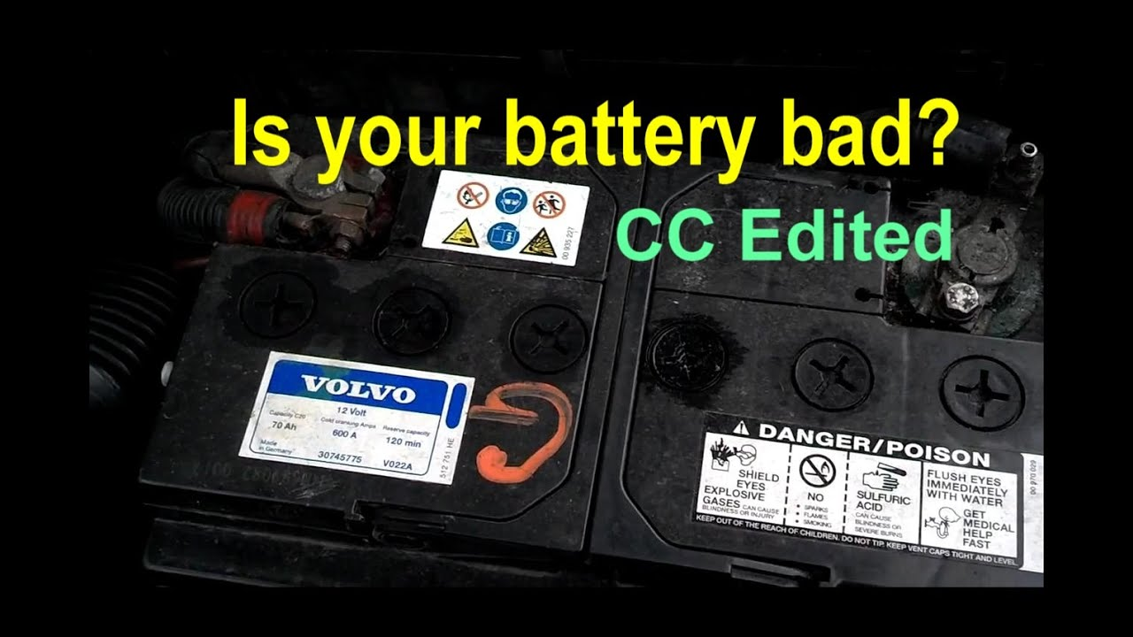 Signs Your Car Battery Is Dying >> How To Tell If Your Car Battery Is Bad Weak Or Dead Signs Of A Bad