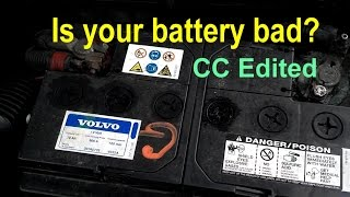How to tell if your car battery is bad, weak or dead. Signs of a bad alternator. - VOTD