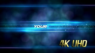 4K Logo Reveal Video Background 4Types Title Logo Template