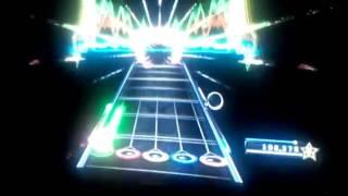 Boy plays guitar hero gets outta control